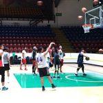 Inicio de entrenamiento de selección de baloncesto 1