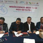 Michoacán lanzará satélites 1