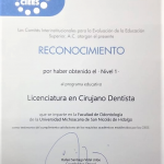 Acreditación de CIEES a la Facultad de Odontología (1)
