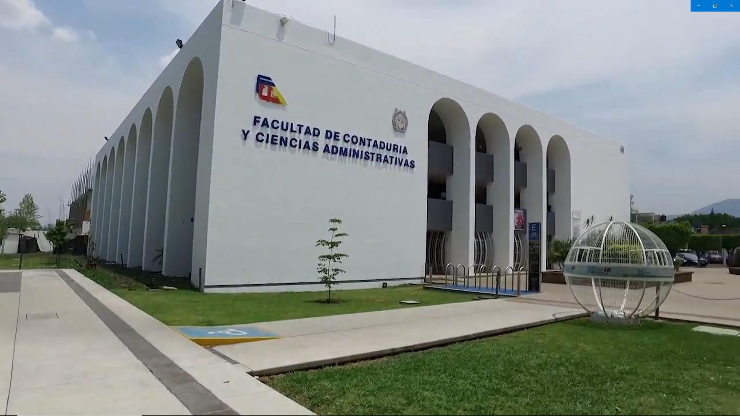Facultad de Contaduría y Ciencias Administrativas de la UMSNH   Ciudad Universitaria   Morelia, Michoacán, México