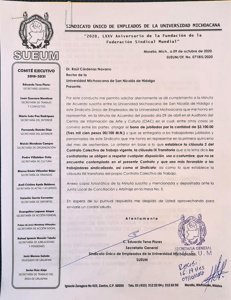 """""""Se pague por usos y costumbres"""" SUEUM"""