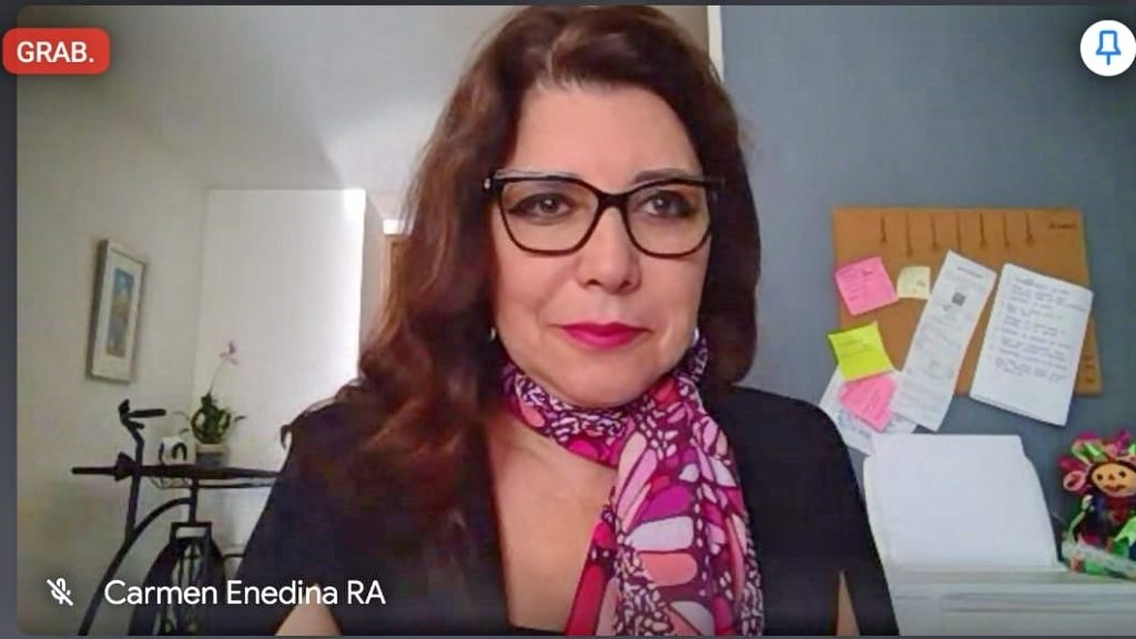 La Directora de Educación Superior Universitaria de la SEP del gobierno federal, Dra. Carmen Enedina Rodríguez Armenta, estuvo presente de manera virtual en la titulación número mil de la UMSNH.