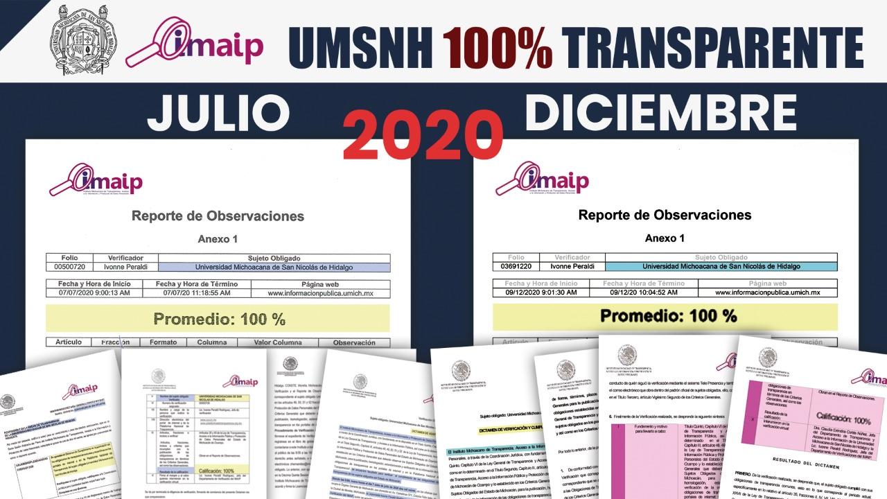 Por primera vez, la Universidad Michoacana cumple al 100 % con los requisitos de la Ley General de Transparencia y Acceso a la Información Pública