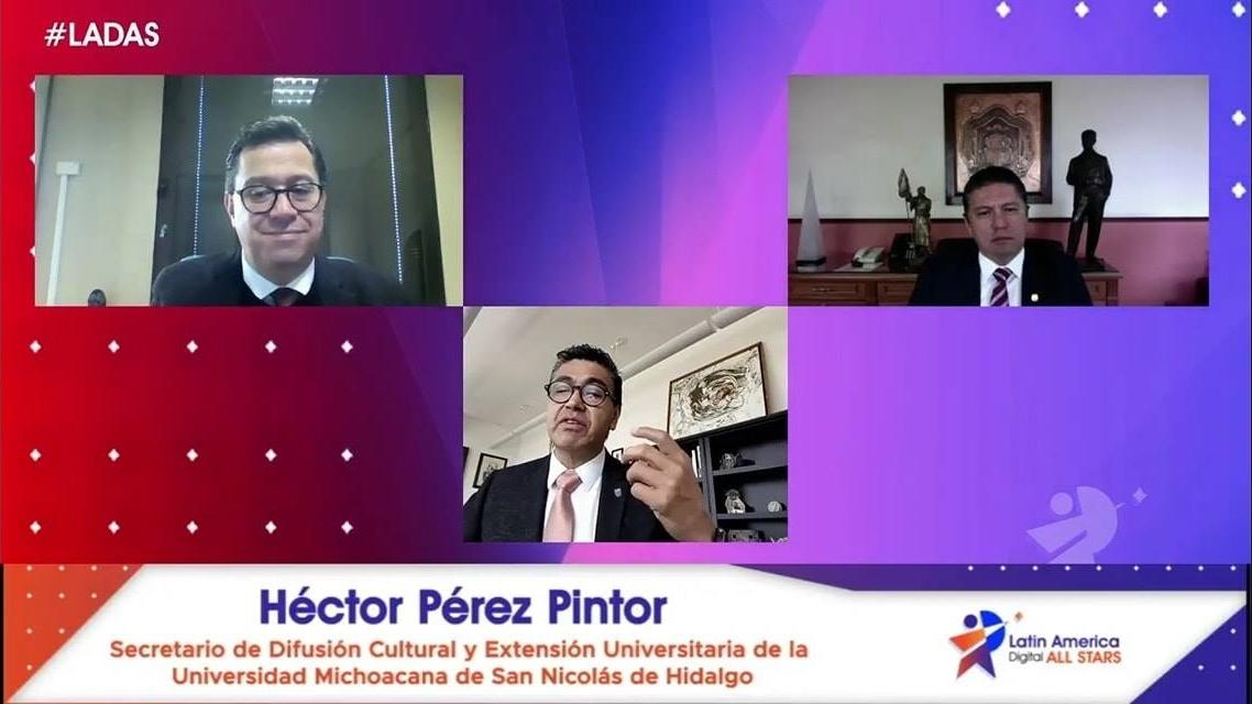 #LADAS   El Rector de la UMSNH, Dr. Raúl Cárdenas Navarro inauguró el encuentro virtual