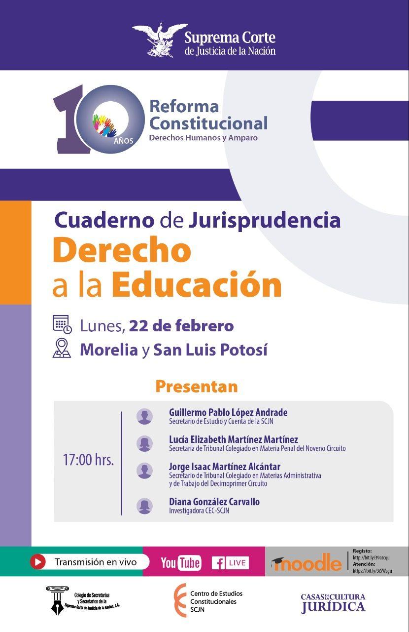 Cuadernos de Jurisprudencia - Derecho a la Educación